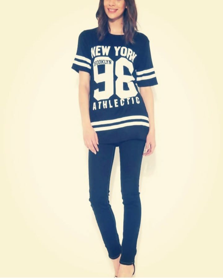 Baseball Oversized T – shirt