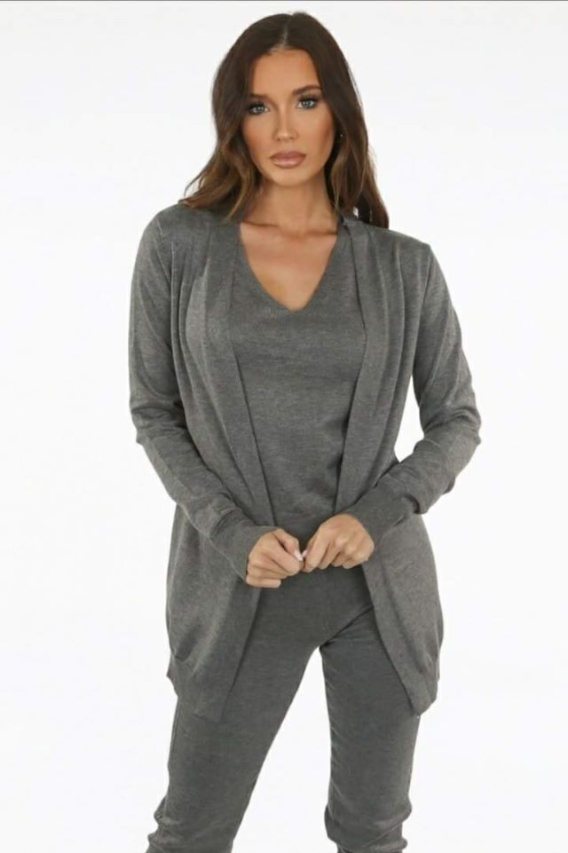 Fine Knit Cardigan – Colours Available