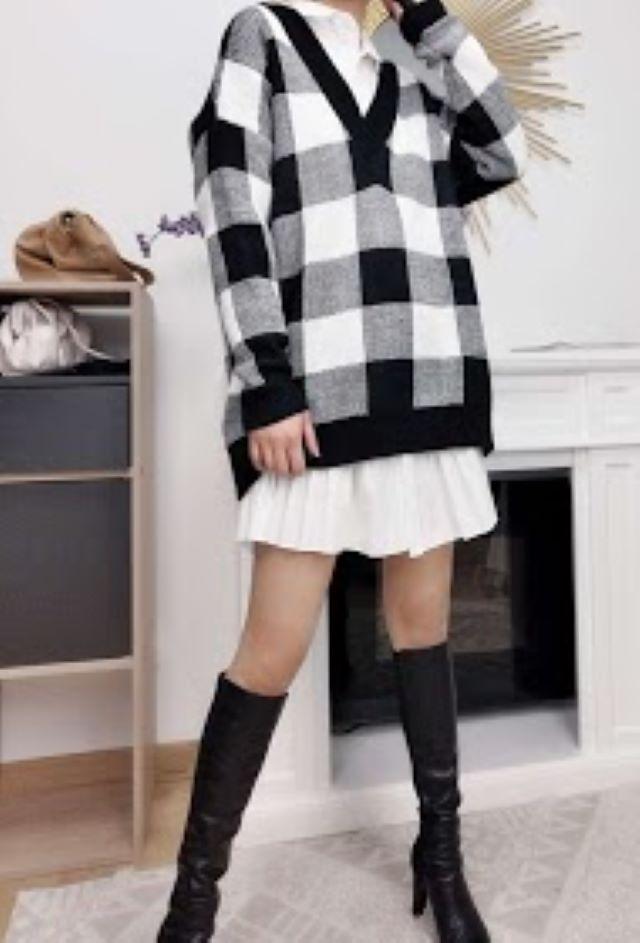 Beky Oversized Knit – Black