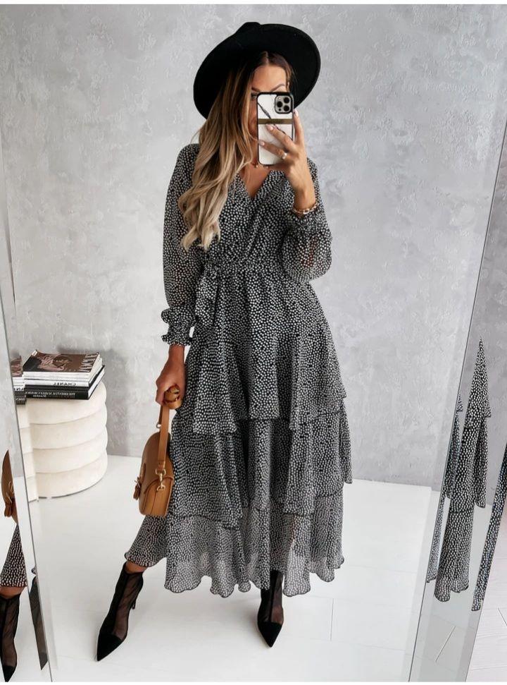 Amalie Tiered Dress