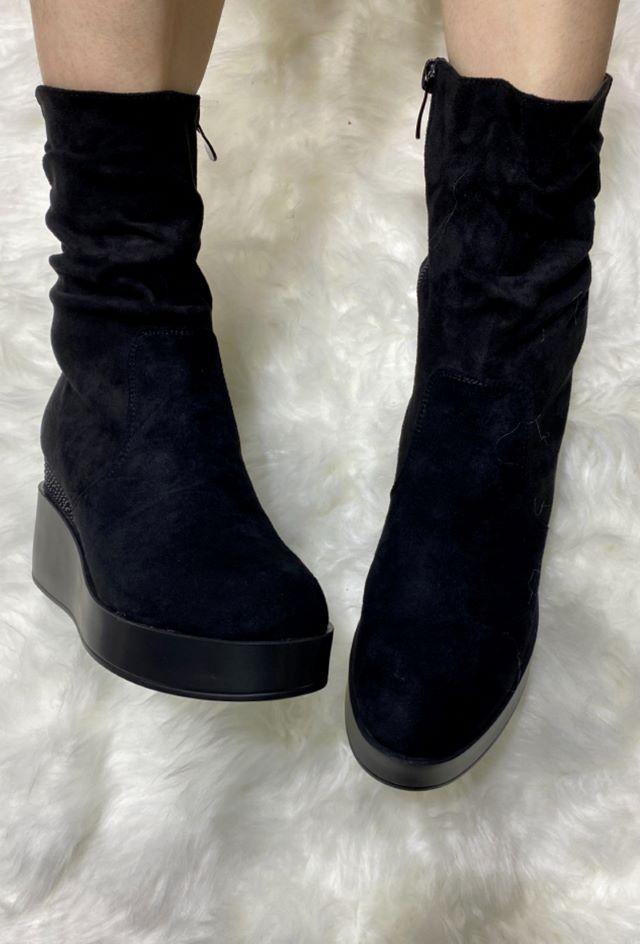 Maura Wedge Boots