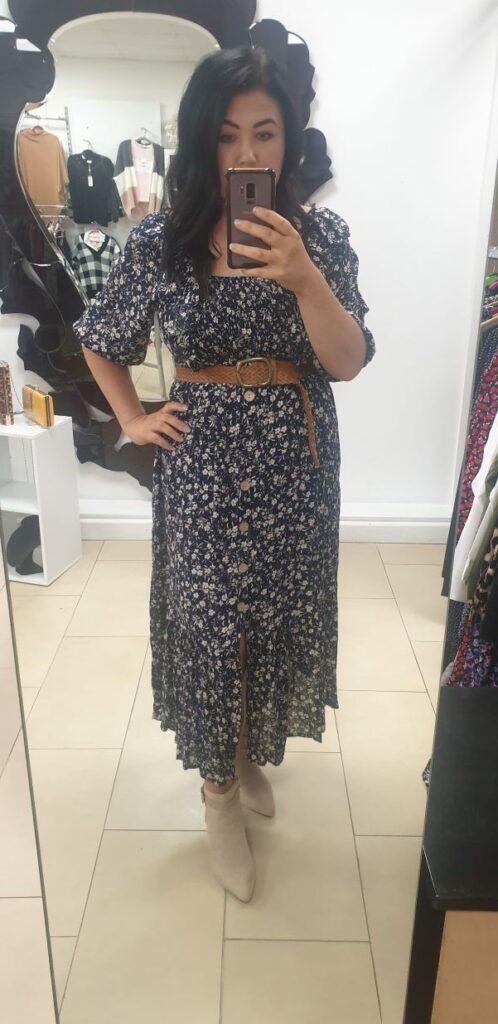 Indie Button Up Dress